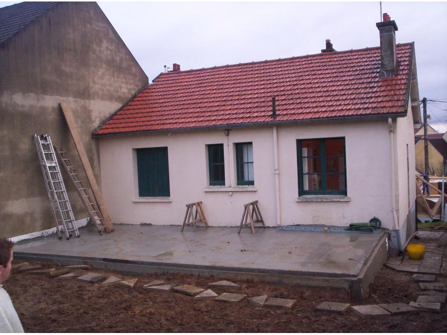 Maison avant travaux d'extension
