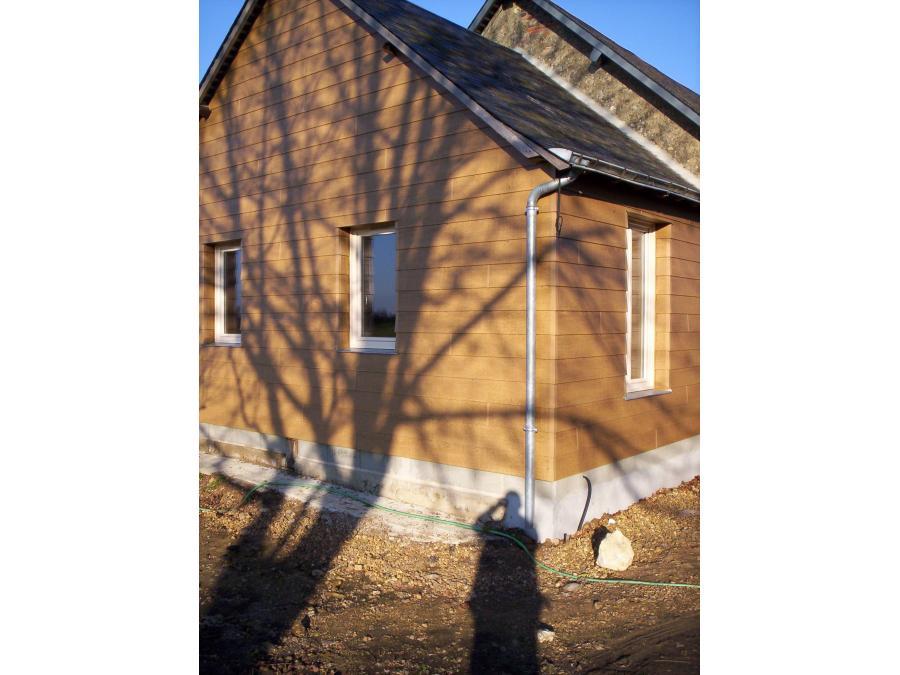Nouvelle extension réalisée en ossature bois